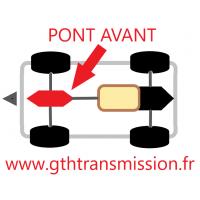 Pont Avant AUDI R8  V8 / V10