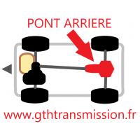 Pont Arrière Classe A B CLA GLA 4matic